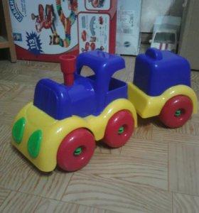 Поезд с прицепом