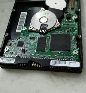Жесткий диск IDE.