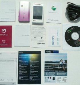 Sony Ericsson Xperia x8 рабочий