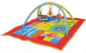 Большой развивающий коврик для детей Taf toys