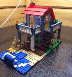 Lego домик