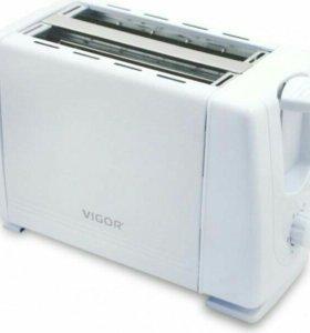 Тостер Vigor белый