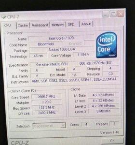 Процессор i7 920.