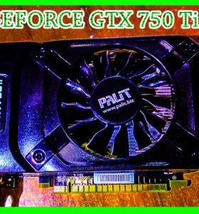 Видеокарта Palit GeForce GTX 750 Ti - 2 Гб