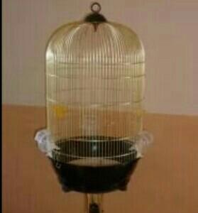 Клетка для птиц на подставке