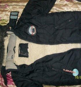 Куртки и комбинезоны на мальчика на р. 98