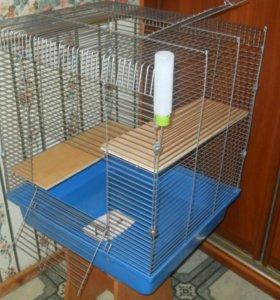 Клетка для шиншиллы, крыс, дегу, хорька