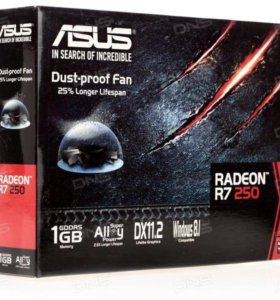 Видеокарта AMD Readon r7 250