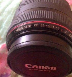 Объектив canon EF 85mm f/1.2 L II USM .
