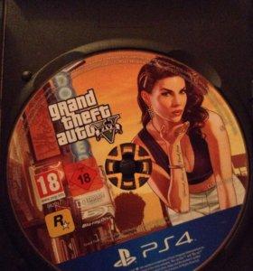Оригинальный ГТА5 на PS4 новый
