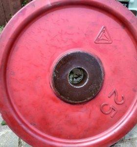 Блины 25 кг СССР