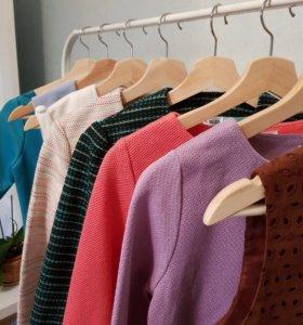 Костюмы, шорты, юбка, платье, кофты