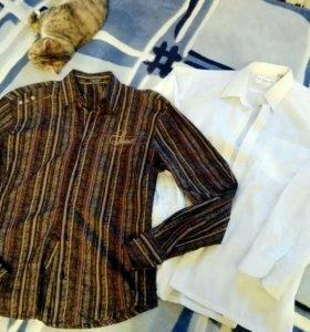 Рубашки 48-50р цена за обе!