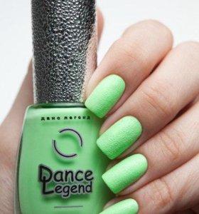"""""""Песчаный"""" лак Dance Legend Sahara Crystal №21"""