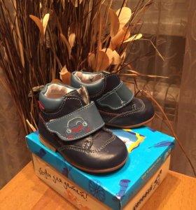 Детские ботинки котофей 20 размер