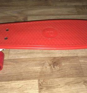 Скейт Penny board ( колёса силиконовые )