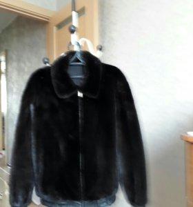 куртка мужсая норковая