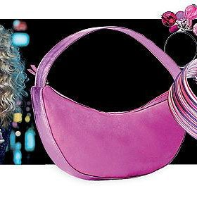 """сумка, браслет и кольцо """"Неоновая вечеринка"""""""