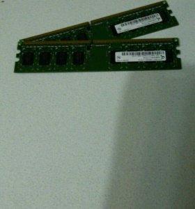 Оперативная память. DDR2 1гб