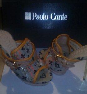 Босоножки, сабо женские Paolo Conte. 35-36 р
