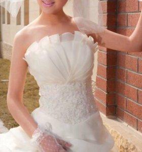Платье свадебное новое!!!