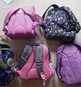Красивые рюкзаки для девочек с 1 по 6 класс