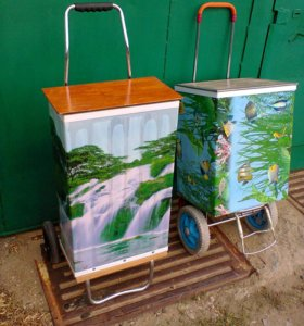 Кофр-термос для перевозки фруктов и овощей