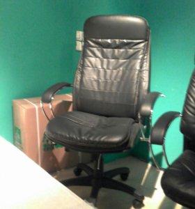 Офисное кресло лк 3в эко коже
