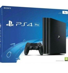 Sony PlayStation 4 Pro 1TB. Новая.