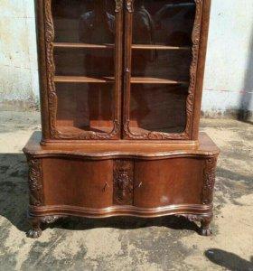 Антикварная резная мебель