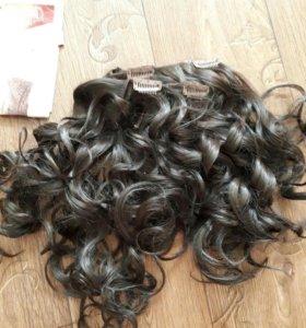Волосы на заколках (трессы)