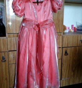 7-9лет платье