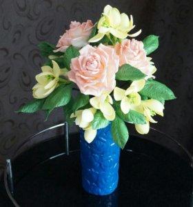 В наличии цветы из фоамирана