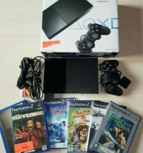Sony playstation 2 + игры