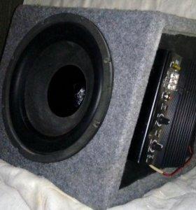 Активный сабвуфер (акустическая система+усилитель)