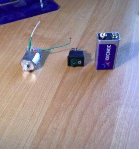 Радиодетали для электронных самоделок.