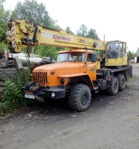 Кран автомобильный КС-55722-1 ЮРГИНЕЦ