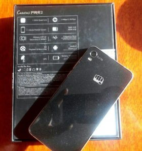 смартфон, Android Micromax A104 Canvas Fire 2