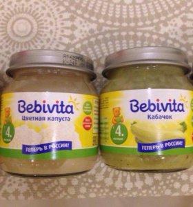 Пюре bebivita (много)