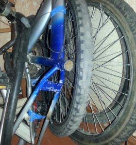 Рам диски передний и задний размер колесо 26