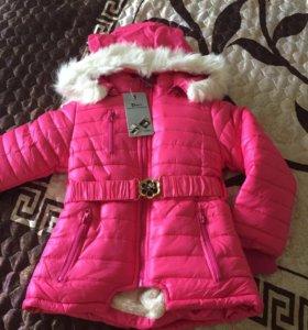Куртка зимняя д/д, размер с 3-5 лет