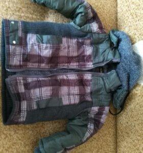 Куртка на теплую зиму