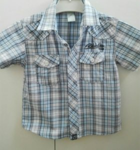 Рубашка для мальчика р.98