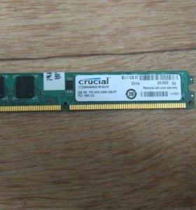 2G DDR2 CRUCIAL