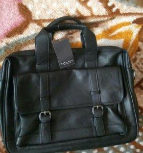 Кожаная сумка,мужская