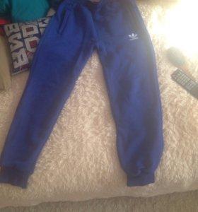 Спортивные штаны, утеплённые!
