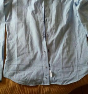 Новая мужская рубашка, размер М (48-50)