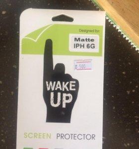 Защитная плёнка на айфон 6