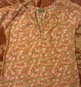 Блуза на 4-5 лет