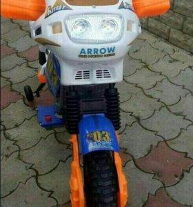 Детский мотоцикл кроссовый